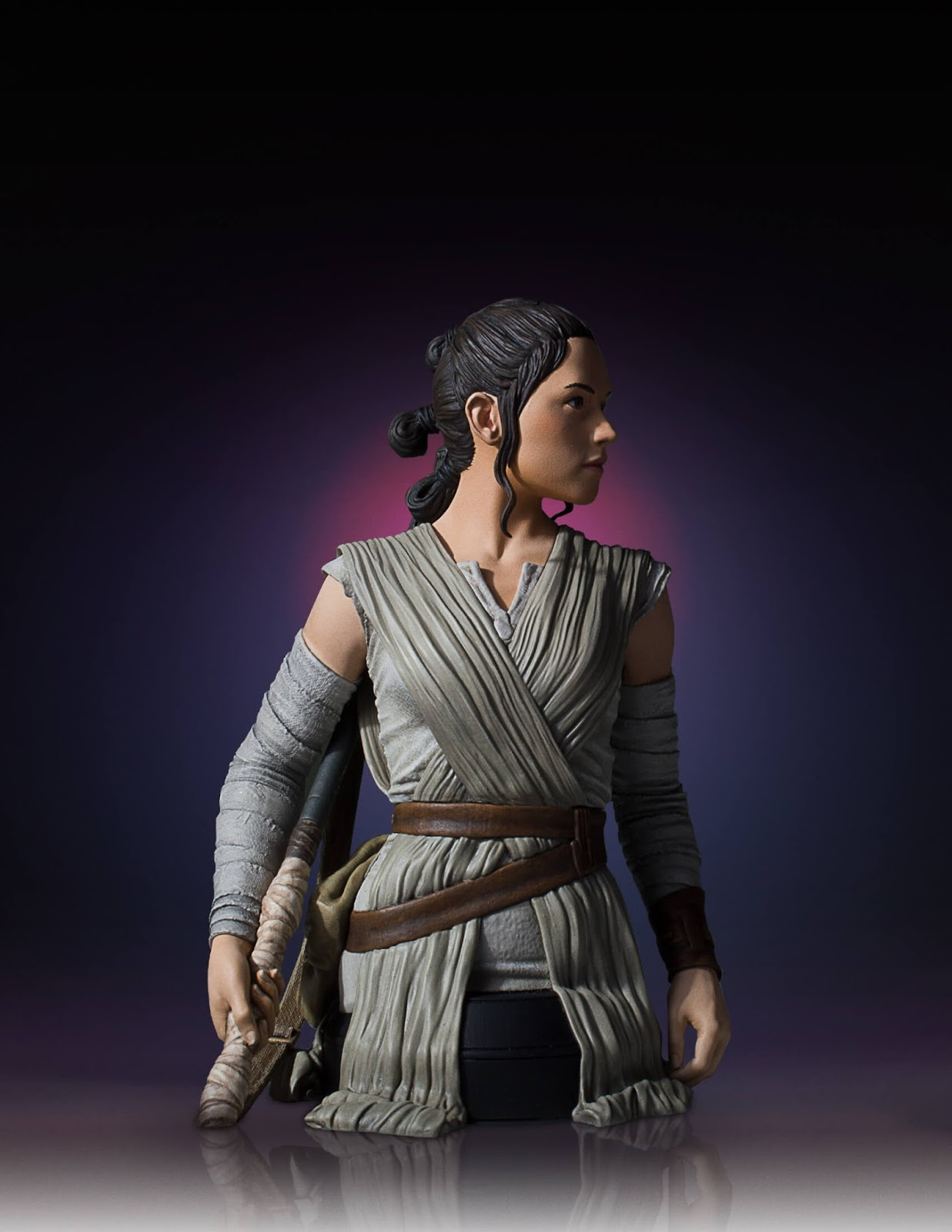 collecting toyz gentle giant ltd s star wars rey mini bust