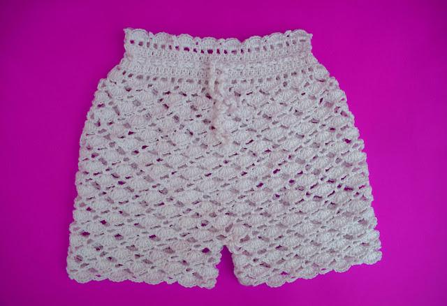 6-Crochet Imagen Pantalón a conjunto con camisa de verano a crochet y ganchillo por Majovel Crochet