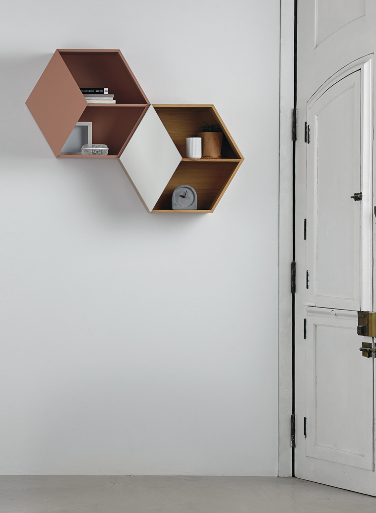 shelf hexagon