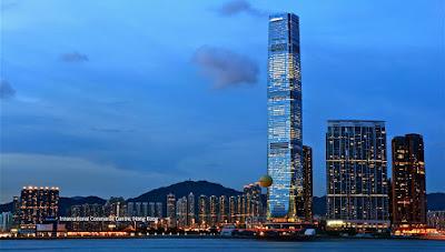 uluslararası ticaret merkezi, international commerce centre, en uzun gökdelenler