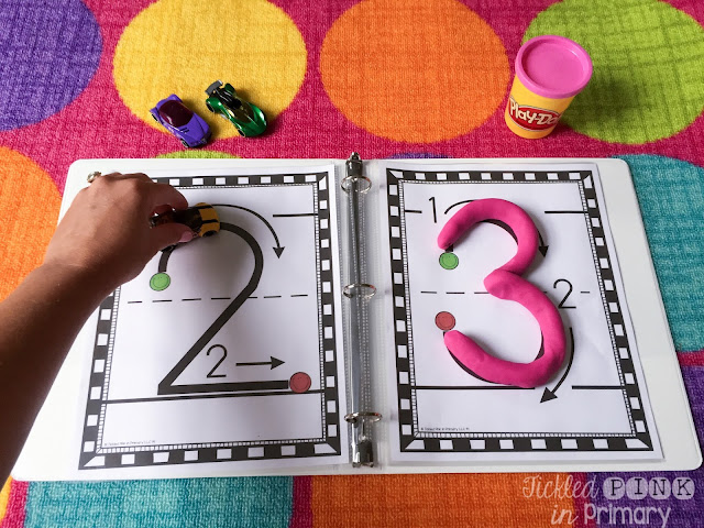 Number writing sheets 02