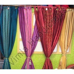 How To Make Tie Up Curtains Tiebacks For Triple Pleat Valance Voile