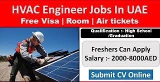 Farnek Services LLC Company Requirements HVAC Technicians, Mechanical Technicians, Administrators, Help Desk Operators in Dubai, UAE