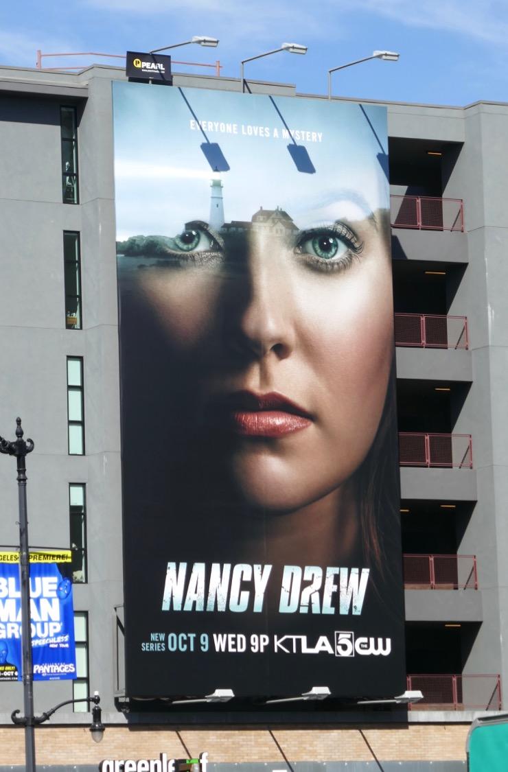 Daily Billboard Nancy Drew Series Premiere Tv Billboards