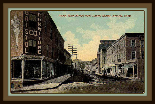 Earl J. Arnold was Vice President and Treasurer of the Bristol Furniture Company. This is a street view.