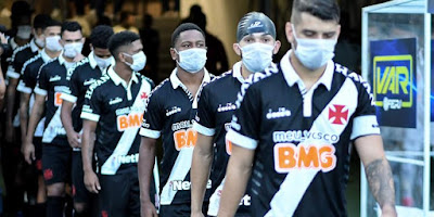 Vasco enfrentará o Santos com mais dois desfalques no elenco após jogadores testarem positivo para Covid