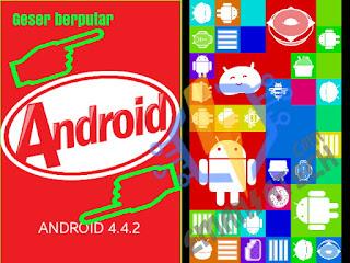 Tampilan Versi Android Kitkat 4.4.2