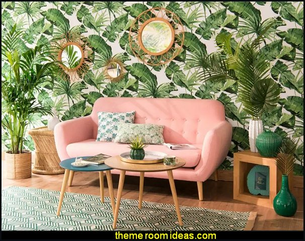 pink jungle living room decorating pink green bedrooms