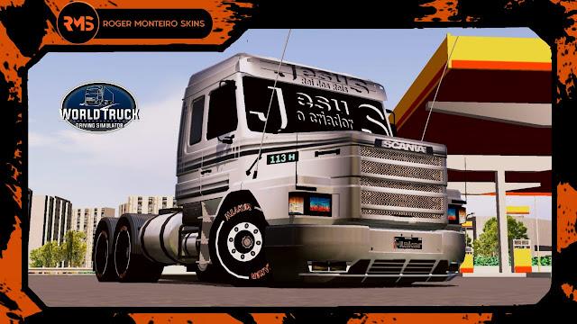 Scania, Scania 113H, Skins, Skins World Truck, Skins Wtds, Wtds, 113