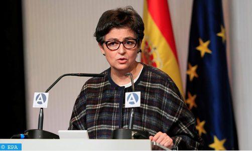 """وزيرة الخارجية الإسبانية تؤكد على """" قوة ونضح """" العلاقات الإسبانية المغربية"""