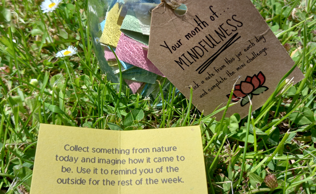 month of mindfulness card