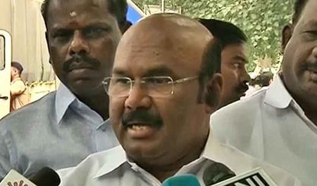 DMK is the reason behind Kasimedu row: Minister Jayakumar