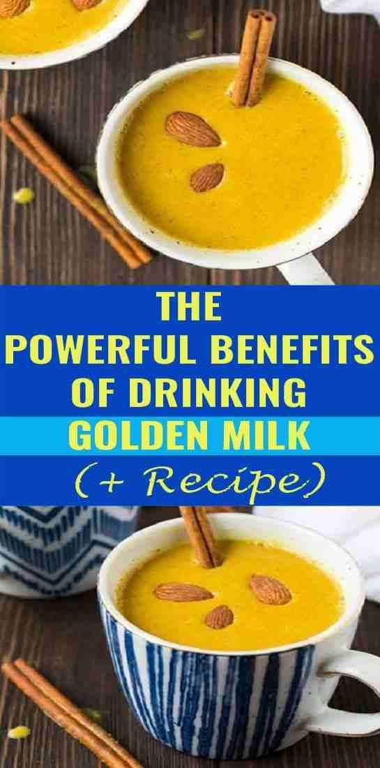 benefits of golden milk drink