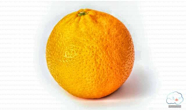 ماسك البرتقال لتبييض البشرة الدهنية