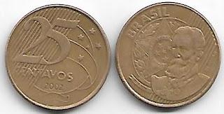25 centavos, 2002