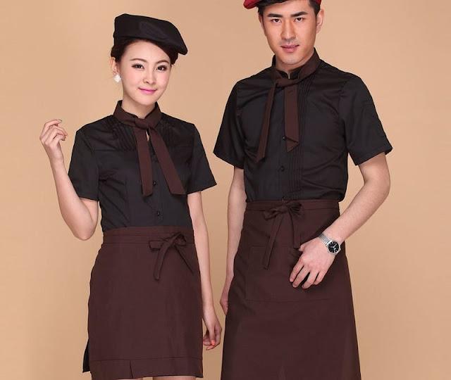 Không thể bỏ lỡ những mẫu áo đồng phục quán cafe đẹp