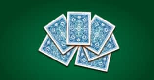 Your opponent wants to continue, if you want to match them you'll have to answer the following question: Which of these is NOT an actual card game?