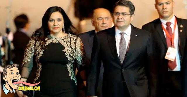 El presidente de Honduras y su esposa están contagiados de Covid