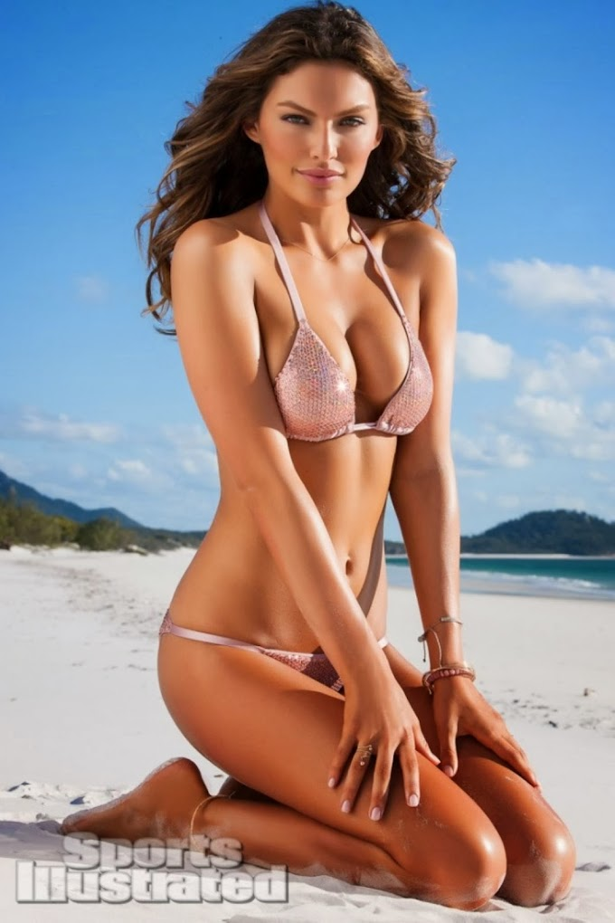 Super Model Alyssa Miller Hot Swim Shoot