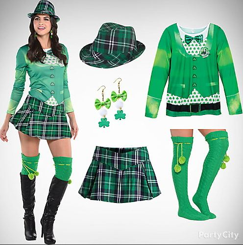 Saint patrick s day party outfit costume ideas