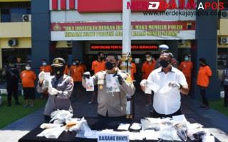 Operasi Antik Candi 2021 Polresta Surakarta Amankan 22 Tersangka Kasus Narkoba
