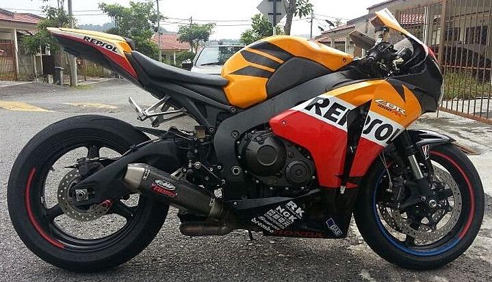 SBK Motoworks: CBR1000RR 2008 Repsol