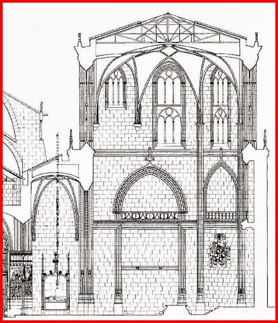Alzado capilla de los Condestables