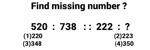 Questions of missing numbers