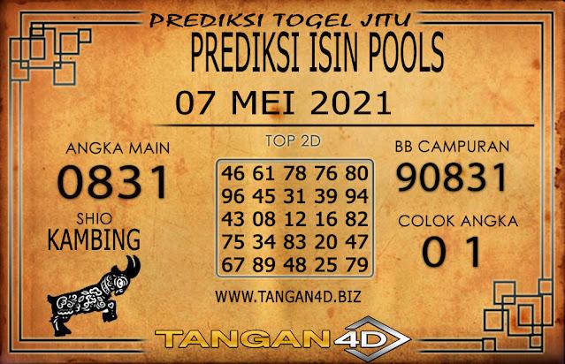PREDIKSI TOGEL ISIN TANGAN4D 07 MEI 2021
