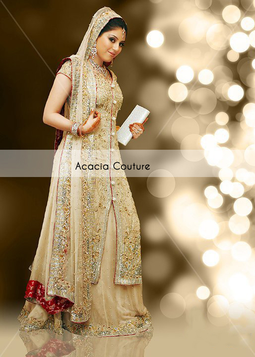 92d3f6380d You do not have to be in Pakistan has great experience of wedding dresses  and there is an option to shop online offered by most designers.