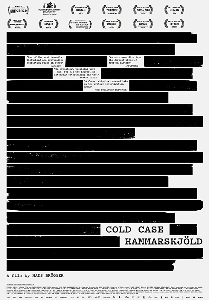 Cold Case Hammarskjöld 2019 English Movie Bluray 720p With Subtitle