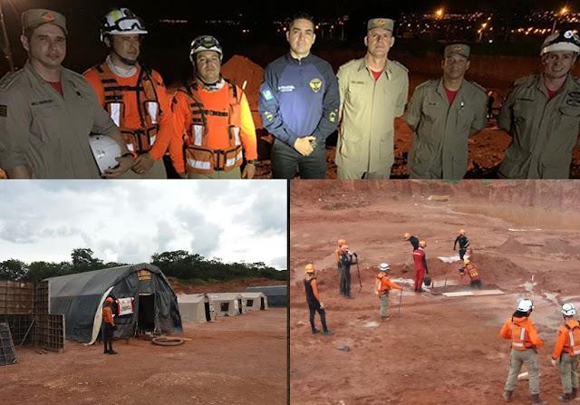 Senador Canedo sedia curso dos Bombeiros sobre operação de salvamento em desastres