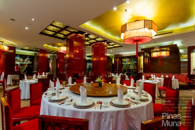 Red Jade Restaurant at The Manila Hotel