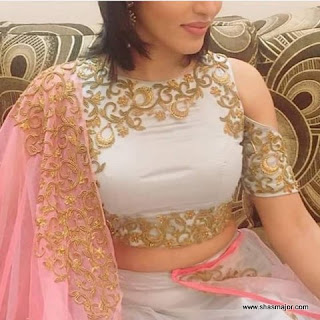 blouse back designs