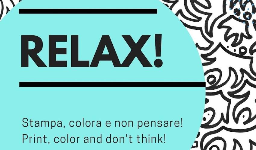 Relax! Stampa e colora
