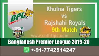Who will win Today BPL T20, 9th Match Rajshahi vs Khulna - Cricfrog