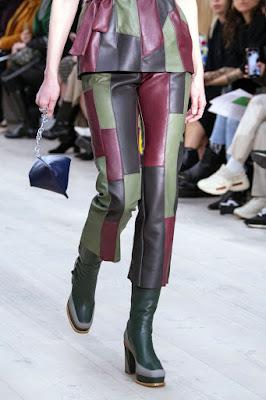 pantaloni in pelle donna
