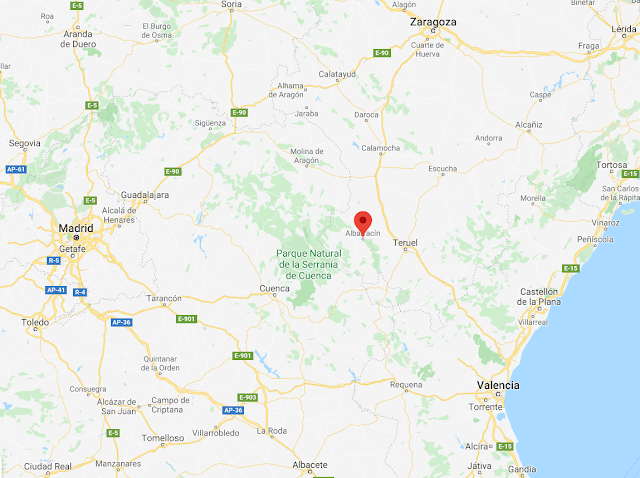 localización de Albarracín en Teruel