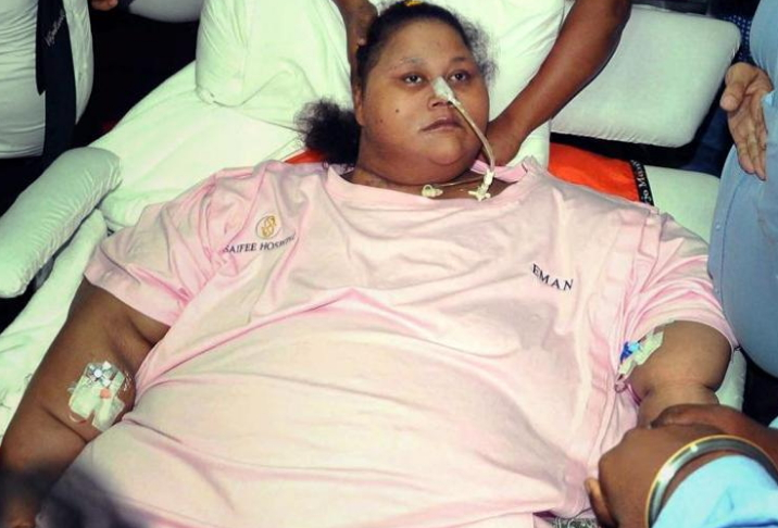 world heaviest woman eman ahmed is dead