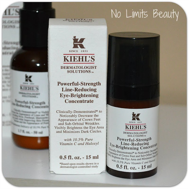 Kiehl's: Powerful Strenght Line Reducing Concentrate (contorno de ojos)