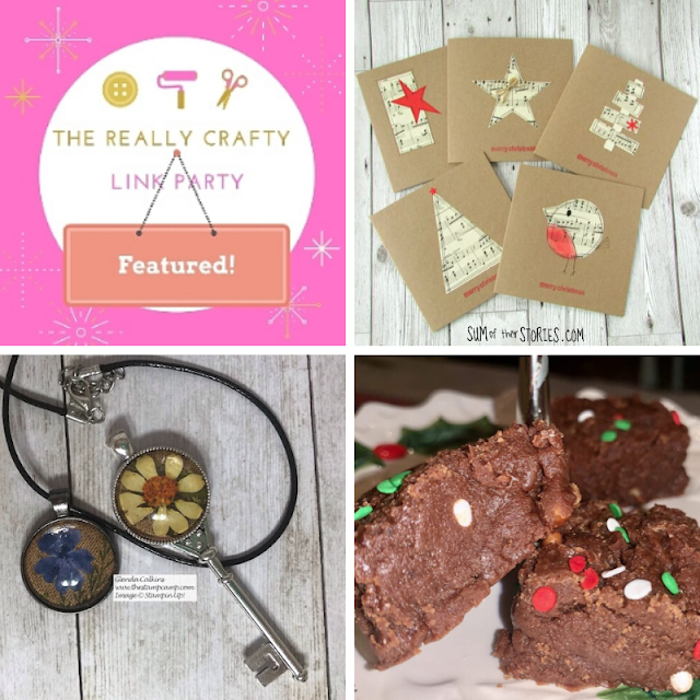 The Really Crafty Link Party #198 featured posts