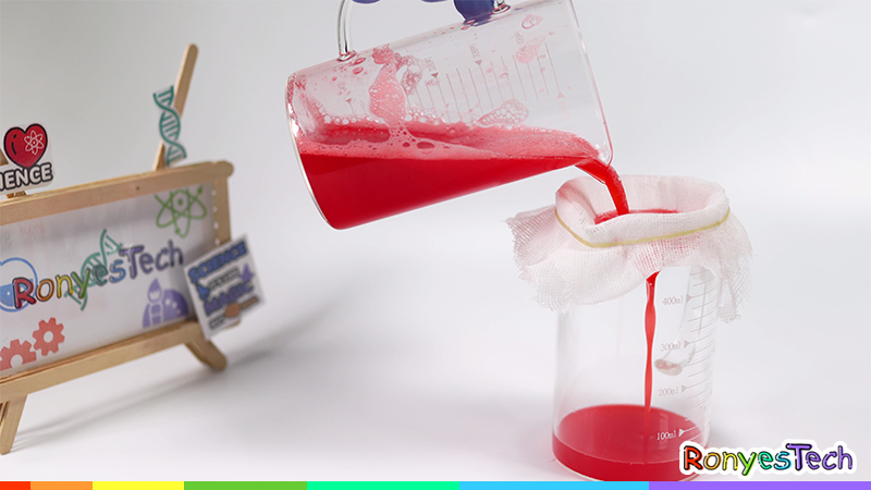 Strawberry DNA Extraction Instruction Step5