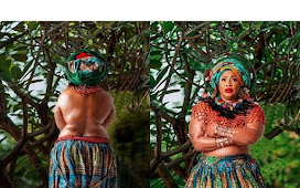 Nigerian Actress Goes Topless, Says Holy Spirit Inspired Her