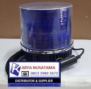 Lampu Rotary LED Biru Colok Ligter di Pasuruan