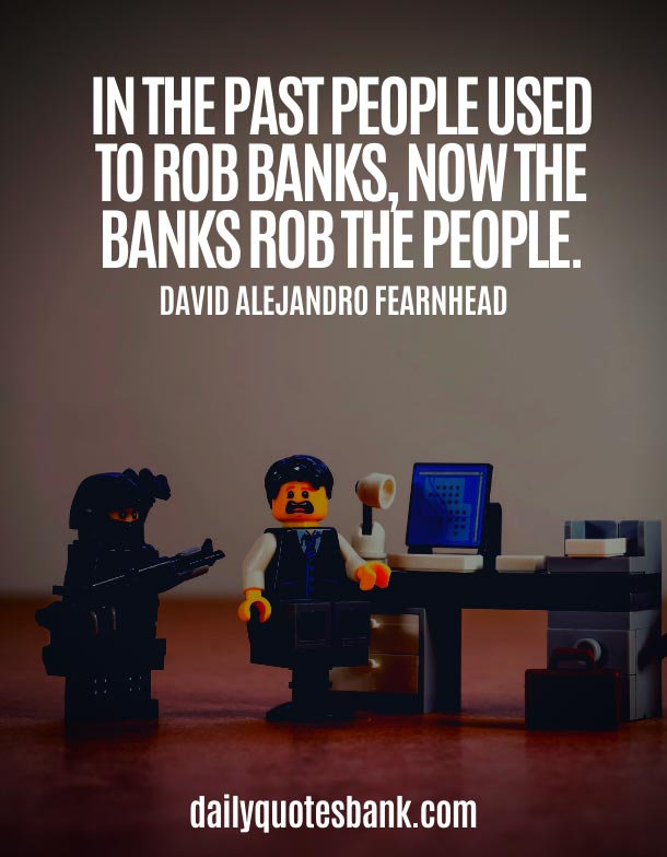Funny Quotes About Banking