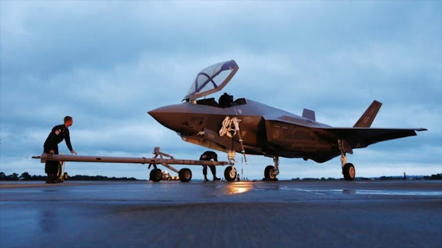 Israel recibe tres cazas F-35 de EEUU valorados en $330 millones