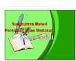 RANGKUMAN MATERI PERSIAPAN UJIAN NASIONAL(UN) DAN USBN KELAS 6 SD/MI
