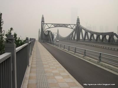 Puente cercano al primer geocache en Wuxi  Taihu Square