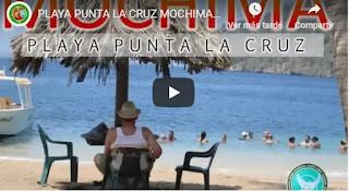 imagen Video playa punta la cruz mochima