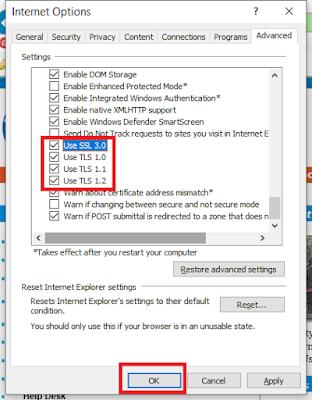 05 Enable TLS 1.1 and TLS 1.2 on Windows